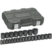 "GearWrench® 1/2"" Drive 6-Point Metric Impact Socket Set, 25-Piece"