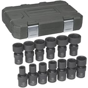 """GearWrench® 1/2"""" Drive 6-Point SAE Impact Universal Socket Set, 13-Piece"""