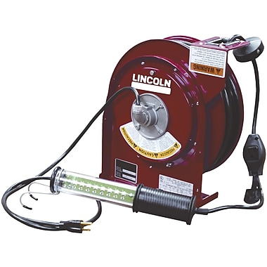 Lincoln® Heavy-Duty LED Light Cord Reel