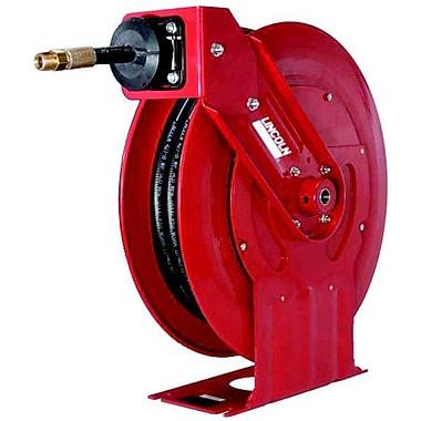 LincolnMD Dévidoir de boyau d'air/eau rétractable à faible pression, 1/2 po x 50 pi