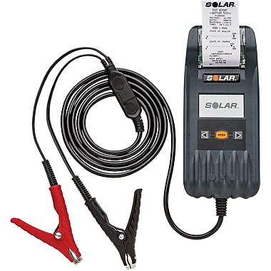 Solar® Digital Battery and System Tester with Integrated Printer