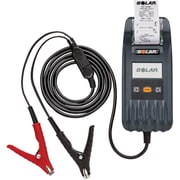 Solar Digital Battery and System Tester with Integrated Printer