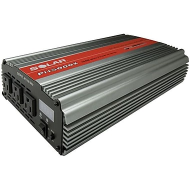 Solar® Triple Outlet Power Inverter with Digital Display, 1500 W