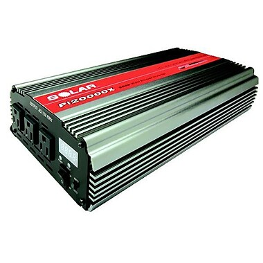 Solar® Triple Outlet Power Inverter with Digital Display, 2000 W