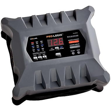 SolarMD – Chargeur/mainteneur intelligent de batterie Pro-Logix 10/6/2 A