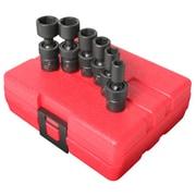 "Sunex® 1/4"" Drive SAE Universal Impact Socket Set, 6-Piece"