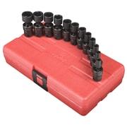 "Sunex® 1/4"" Drive Metric Universal Impact Socket Set, 12-Piece"
