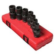 "Sunex® 1/2"" Drive Metric Universal Impact Socket Set, 7-Piece"