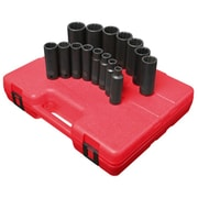 "Sunex® 1/2"" Drive 12 Point SAE Deep Impact Socket Sets"