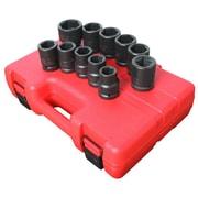 "Sunex® 3/4"" Drive SAE Truck Service Impact Socket Set, 11-Piece"