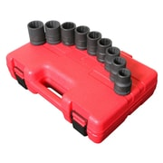 "Sunex® 3/4"" Drive 12 Point SAE Thin Wall Impact Socket Set, 9-Piece"
