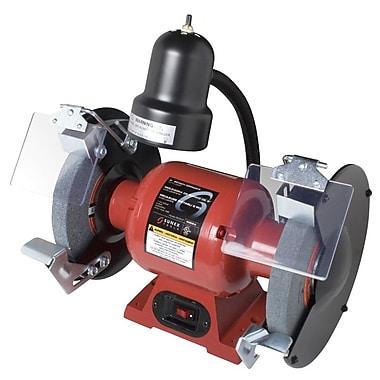 SunexMD – Meuleuse d'établi 5002A, 8 po, 3/4 hp avec éclairage, 3450 tr/min