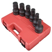 "Sunex® 1"" Drive SAE Hex Drive Impact Socket Set, 6-Piece"