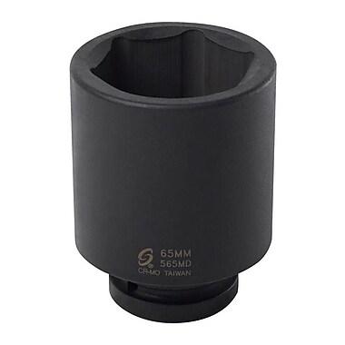 SunexMD – Douilles profondes de 6 points avec prise de 1 po, 65 mm