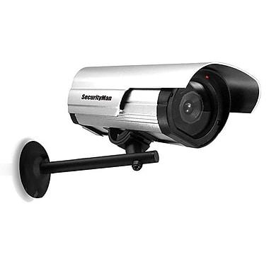 SecurityMan – Caméra factice d'extérieur/intérieur à DEL clignotant
