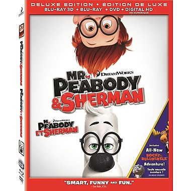 Mr. Peabody & Sherman (3D Blu-ray/Blu-ray/DVD)