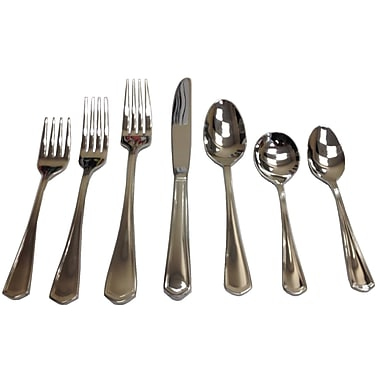 Oneida 2305FDNF Euro Dinner Forks, Inn Classic Collection, 36/Pack