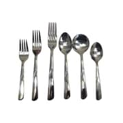 Browne ST3103 Dinner Forks, Stream Pattern, 12/Pack