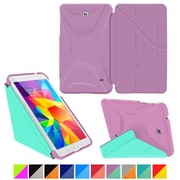 """roocase Galaxy Tab 4 8.0"""" 3D Slim Shell Case, Orchid & Mint Candy"""