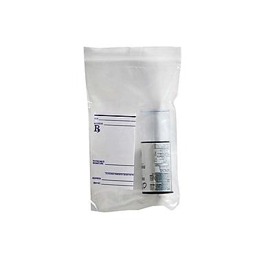 Alpha Poly – Sacs de laboratoire refermables en polyéthylène, 6 x 9 po, 1,5 mil, transparents, 2000/bte