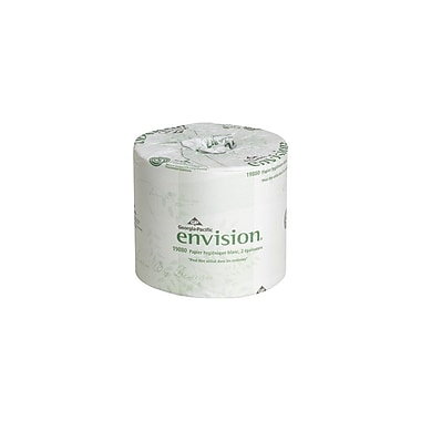 Georgia Pacific 1988001 Envision Embossed Toilet Tissue Rolls, 4