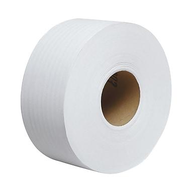 ScottMD – 67805, Rouleaux de papier hygiénique recyclé 100 % non perforés, 3,55 x 1000 (po x pi), 2 épaisseurs, blanc, bte/12