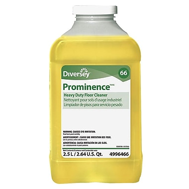 Prominence Heavy-Duty Ready To Use Wood Floor Cleaner, 2.5 L, 2/Case