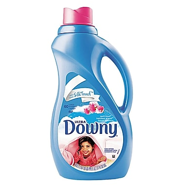 Downy Ultra Liquid Fabric Softener, April Fresh Scent, 51 oz., 8/Case