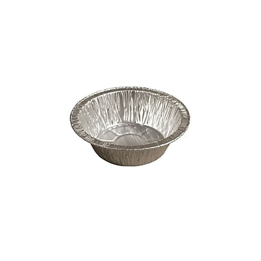 Novelis Aluminum Foil Butter Tart Container, Medium, 3