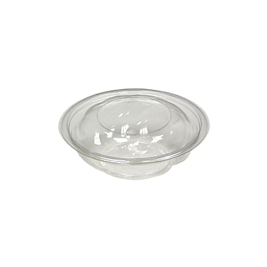 Polyethylene Swirl Bowl with Swirl Lid, 18 oz., 300/Case