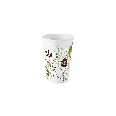 Dixie Pathways Poly-Coated Paper Cups, Cold, 16 oz., 1,200/Case
