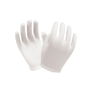Glove Ronco Men's Inspection Slip Cuff, White, 24 Pair/Pack, 1200 Pair/Case