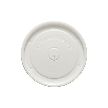Solo Polystyrene Vented Lid, 12 oz., White, 1200/Case