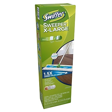 Swiffer Dust Mop Kit, Prof XL Starter Kits, 6 Kits/Case