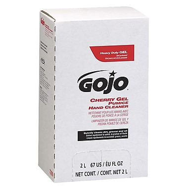 Gojo Pro 2000 Pumice Gel Hand Cleaner, 2000 ML, Cherry, 4/Case