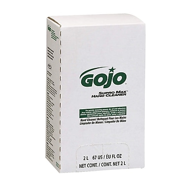Gojo Supro Max Multi Purpose Hand Soap, 2L, 4/Case