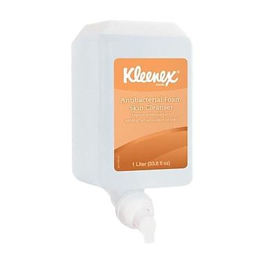 Kleenex – Nettoyant antibactérien pour la peau, 1000 ml, transparent, boîte/6