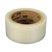 3M Tartan General Purpose Box Sealing Tape, 48 mm x 1828 m, 1 Mil, Clear, 4/Case