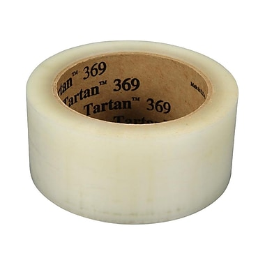 3M – Rubans d'emballage Tartan tout usage, transparent, 48 mm x 914 m, 1,6 mil, 6/paq.