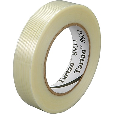Tartan 8934 General Purpose Filament Tape, 18 mm x 55 m, 48/Case