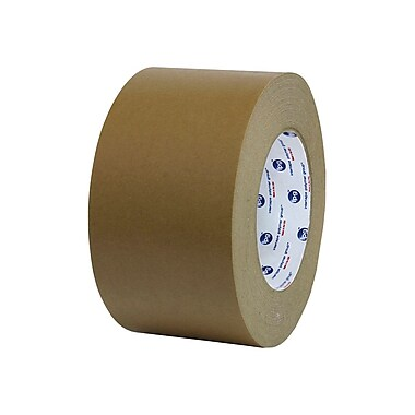Intertape – Rubans adhésifs 534, en papier Flatback kraft naturel, 72 mm x 480 verges, 7,4 mil, 4/paq.