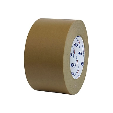 Medium Grade Medium Duty Flatback Carton Sealing Tape, 72 Mm X 55 M, 6.5 Mil, Kraft, 16/Case