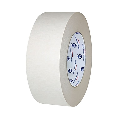 Ipg General Purpose Double Coated Crepe Paper Tape, 48 mm x 33 m, 10.4 Mil, Natural, 24/Case