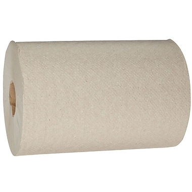 Envision Economy Redi-Fit Roll Paper Towel, 7.87 x 625 Ft., 1-Ply, Brown, 12/Case