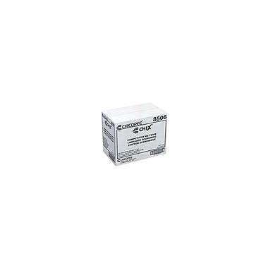 Chicopee – Lingettes Chix pour services alimentaires, en rayonne, non tissées, humides, paquet/100, boîte/900