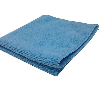 East Port – Chiffon en microfibres, 30 x 30 cm, bleu, boîte/100