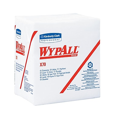 Wypall X70 Hydroknit with Power Pocket Wipers, 12-1/2