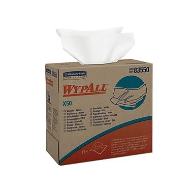 WYPALL – Essuie-tout X50 en boîte distributrice Pop-Up, 9,1 x 12,5 po, paquet/176 feuilles, boîte/10 paquets