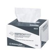 Kimtech ScienceMD – Essuyeurs de précision, 4,4 x 8,4 po, 1 épaisseur, blanc, 280 feuilles/boîte, 60 boîtes/caisse
