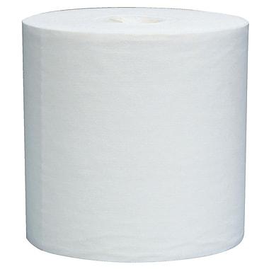 Essuie-tout Wypall L40 tout usage, 12,5 x 13,4 po, format géant, 1 épaisseur, blanc, bte/750